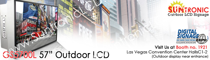 """GS5700L 57"""" Outdoor LCD"""